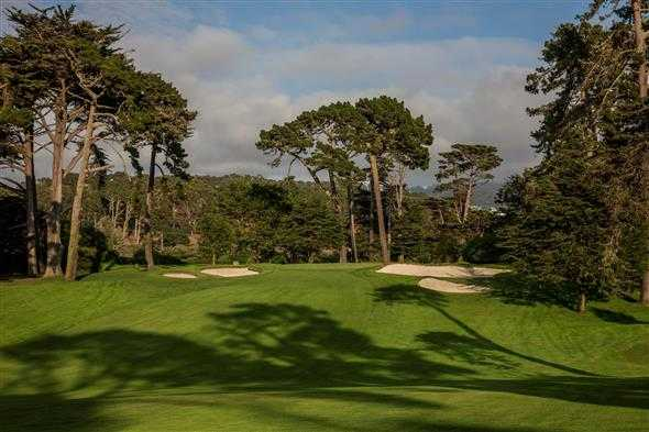 A view of the 14th hole from Lake at Olympic Club