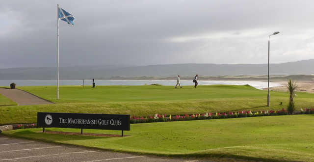 A view from Machrihanish Golf Club