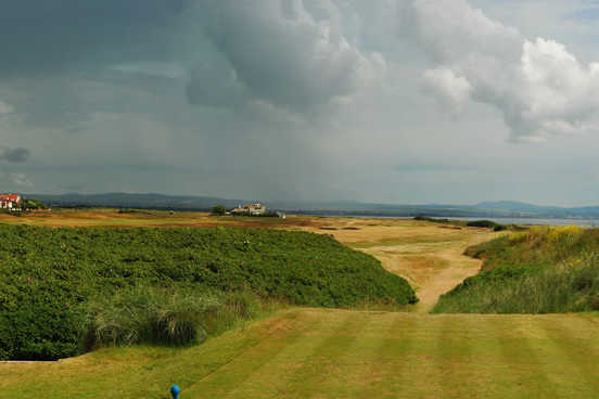 A view from a tee at Royal Troon Golf Club