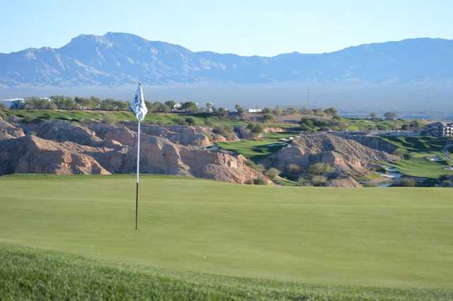A view of the 3rd hole at Wolf Creek Golf Club