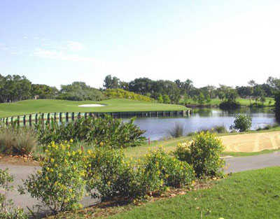 A view from the Emerald Hills Golf Course