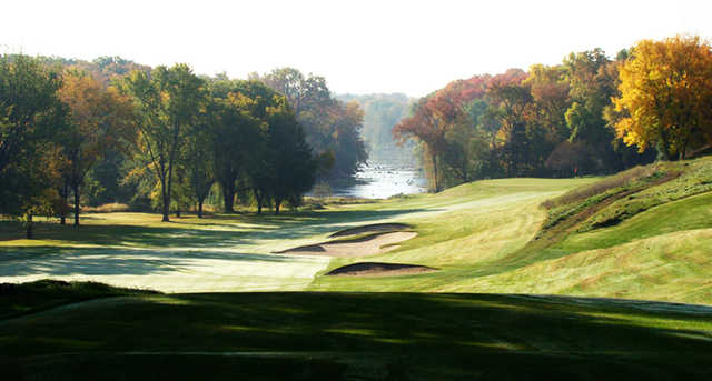 A view from a tee at Milwaukee Country Club