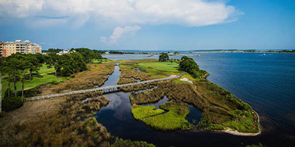 A view from the Nicklaus Course at Bay Point Resort