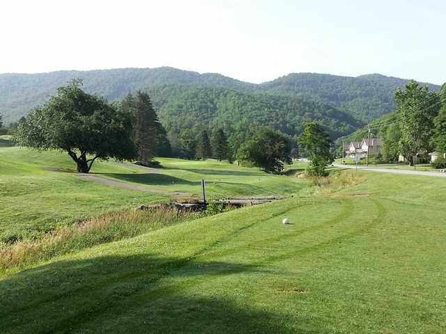 A view from tee #8 at Willow Creek Golf Course