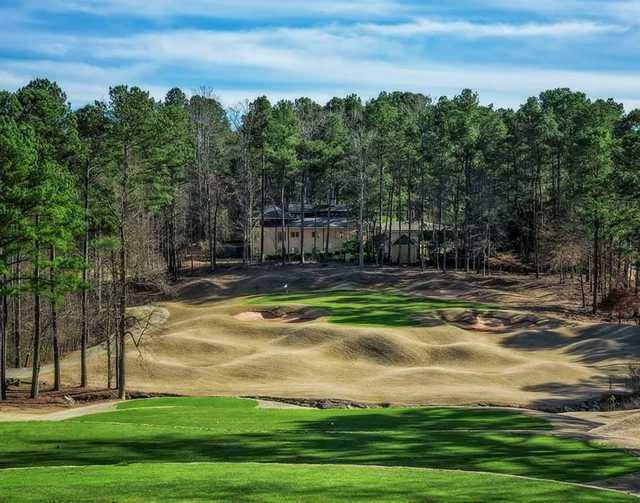 A view of hole #1 at Tradition Nine from Heritage Golf Links