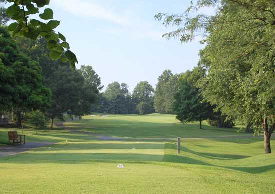 A view from the 10th tee at Westborough Country Club