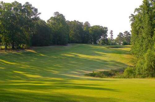 A view of the 13th fairway at Methodist College Golf Club