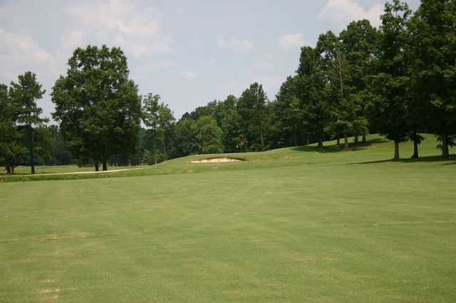 A view of hole #10 at River Golf & Country Club