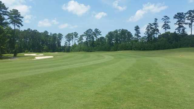 A view of fairway #5 at Carolina Colours Golf Club