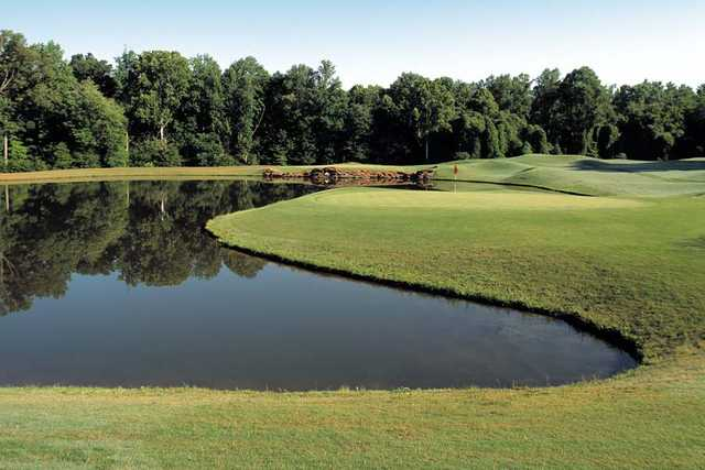 View from th Par-3 Course at Chateau Elan