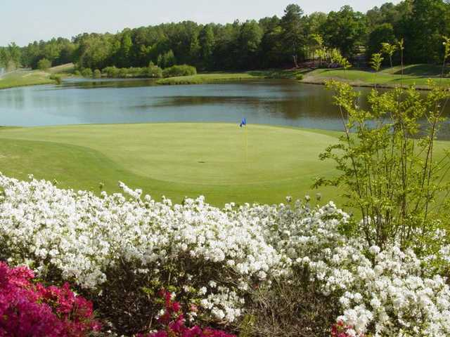 A view from The Preserve at Verdae golf course.