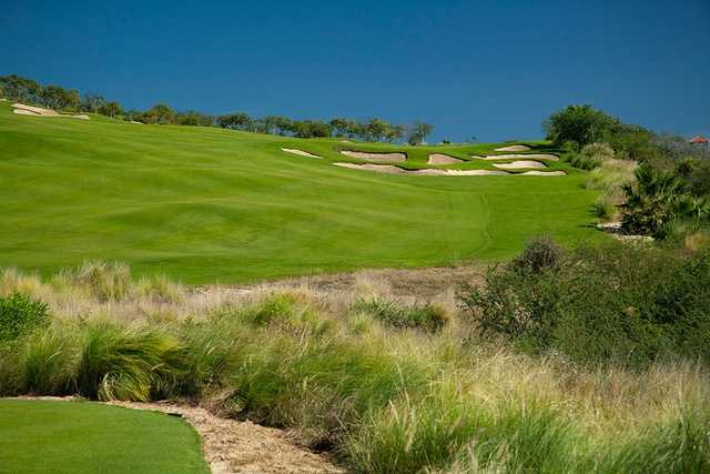 A sunny day view from Puerto Los Cabos Golf Club