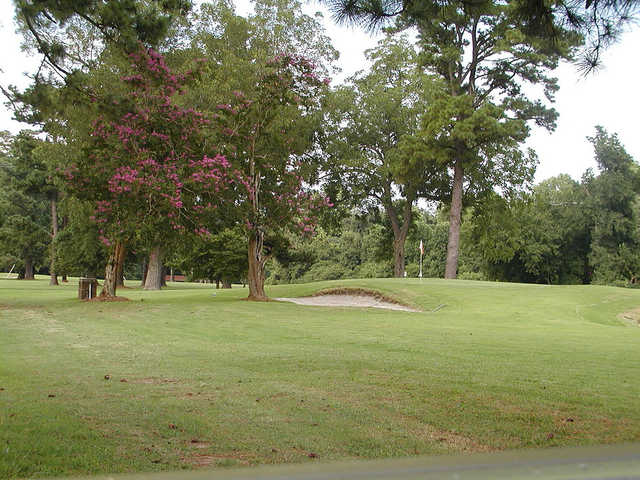 A view of a green at Plymouth Country Club