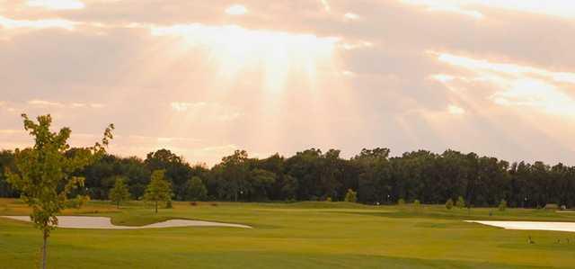 A sunset view from  Macatawa Golf Club