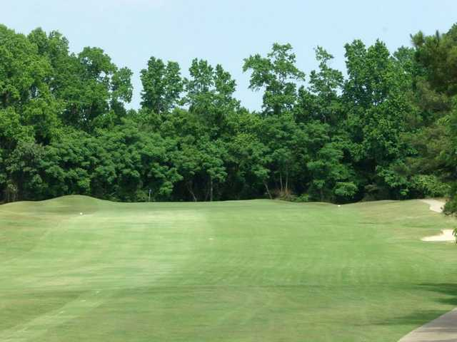 A view of hole #17 at Country Club Of Johnston County