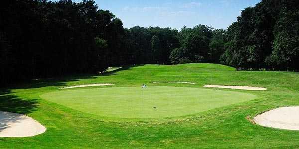View of a green at Lake Ridge Park Golf & Marina