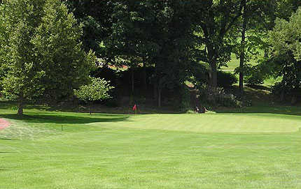 A view of hole #7 at Alliance Country Club