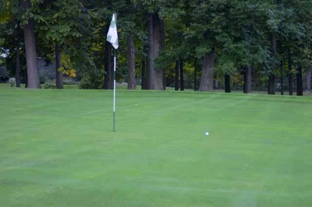A view of a hole at Maple Ridge Golf Course