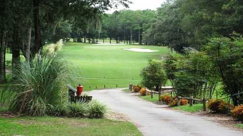 A view of the 10th hole at Rainbow Springs Golf & Country Club