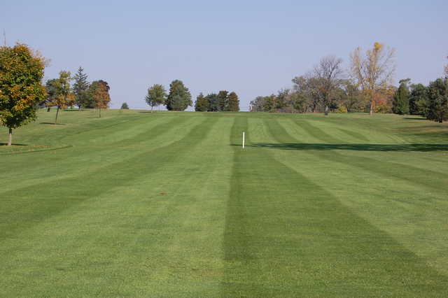 A view of a fairway at Bluffton Golf Club