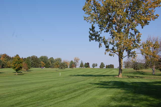 A sunny day view from Bluffton Golf Club