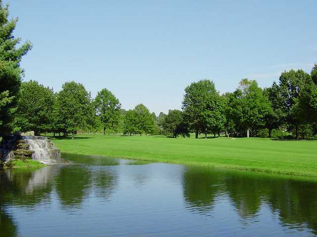 A view of a fairway at Wilkshire Golf Course
