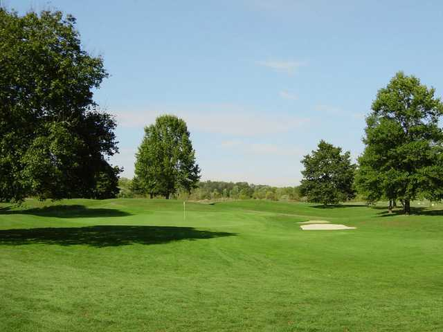 A view of a green at Wilkshire Golf Course
