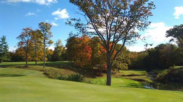 A fall day view from Bristolwood Golf Course