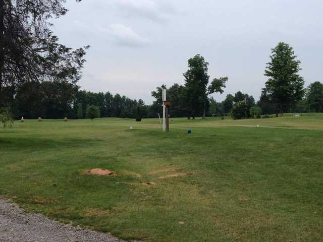 A view of tee #1 at Bristolwood Golf Course
