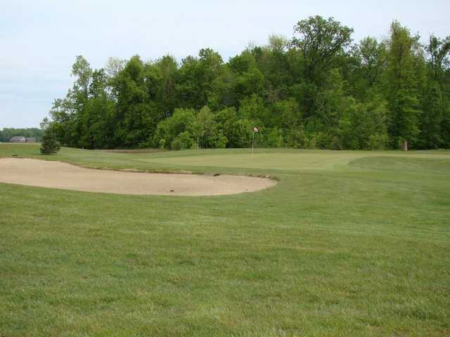 A view of a hole at Celina Lynx Golf Club