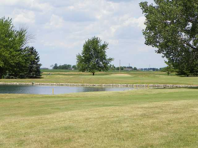 A view of a green at Delphos Country Club
