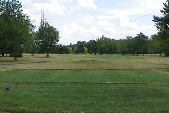 A view from a tee at Delphos Country Club