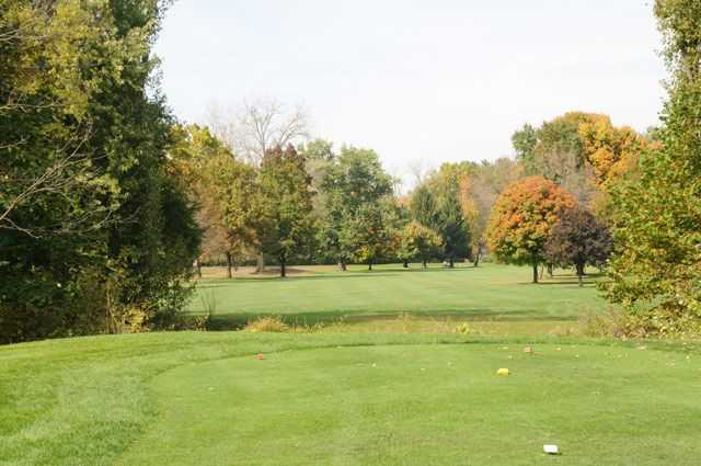 View from a tee at Links at Groveport Golf Course