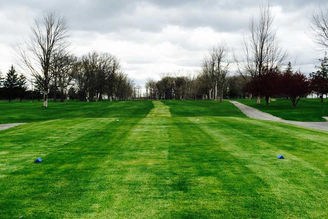 A view from a tee at Findlay Hillcrest Golf Club