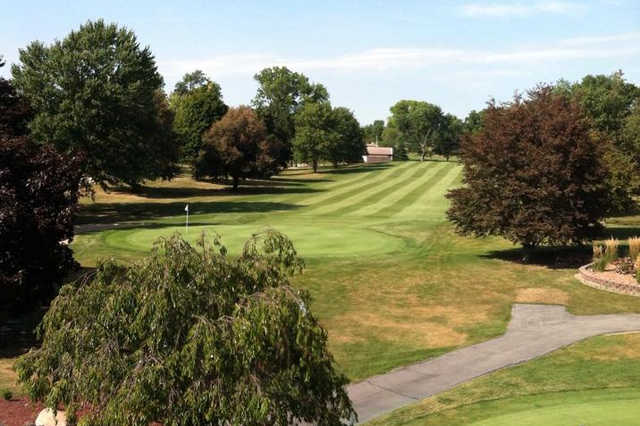 A view of a green at Fremont Country Club