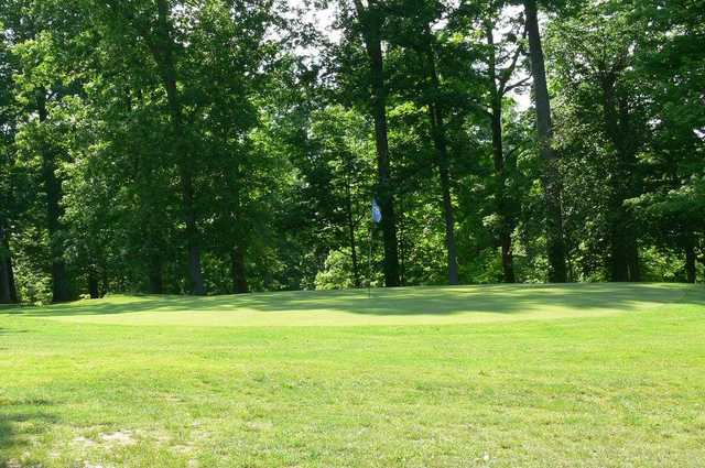 A view of the 6th hole at Forest Hills Golf Course