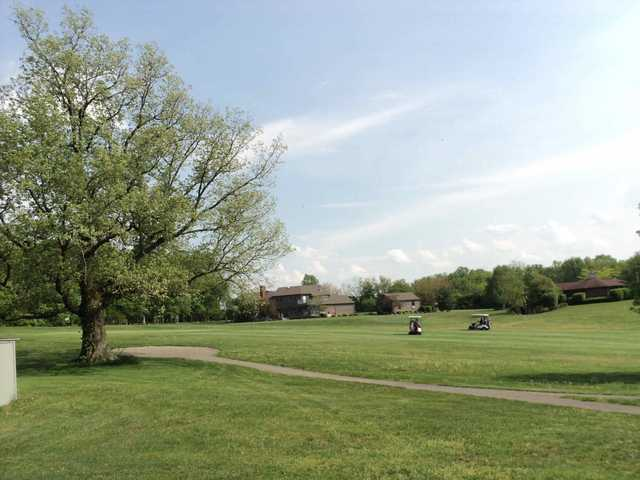 A view of a fairway at Buckeye Hills Country Club