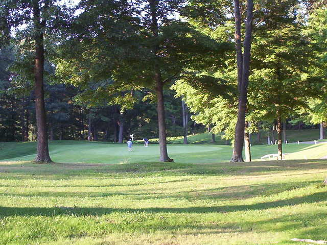 A view of a green at Buckeye Hills Country Club