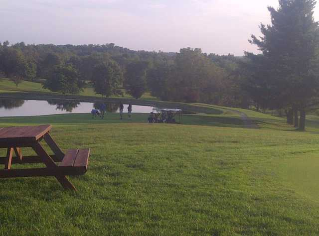 A view from Hillsboro Elks Lodge Golf Course