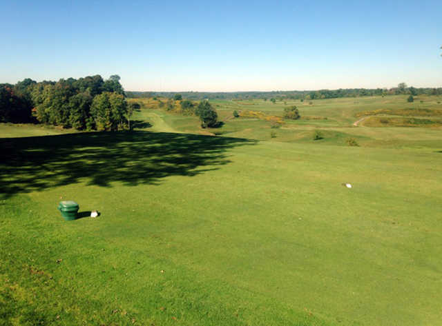 A view from a tee at Crystal Springs Golf Club