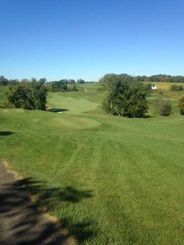 A sunny day view from Crystal Springs Golf Club