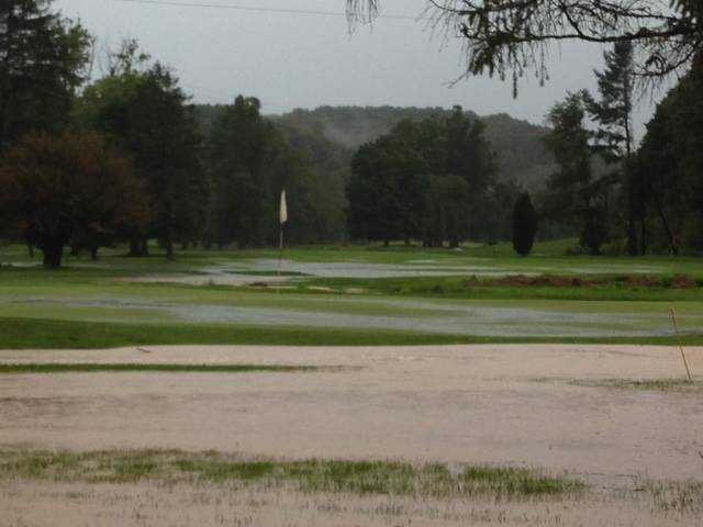 A view of the 9th hole at Ironton Country Club