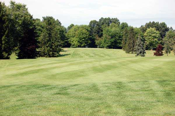 A view of fairway #8 at Lakeside Golf Course