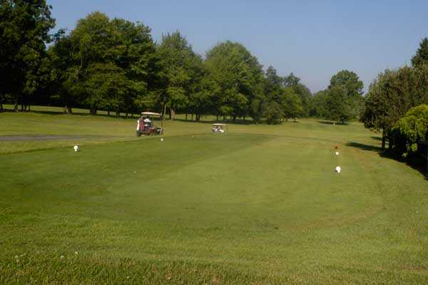 A view from tee #10 at Lakeside Golf Course