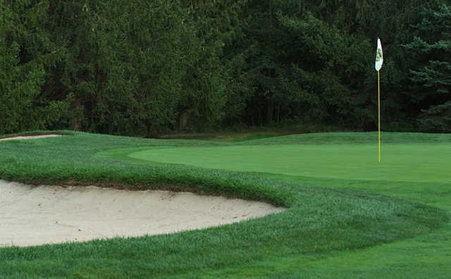 A view of a hole at Shawnee Country Club
