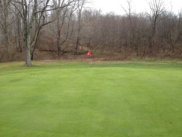 A view of a hole at Twin Springs Golf Course (Fred Brickner)