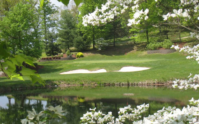 A spring day view from Marietta Country Club