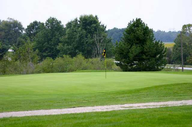 A view of the 8th hole at Blues Creek Golf Club