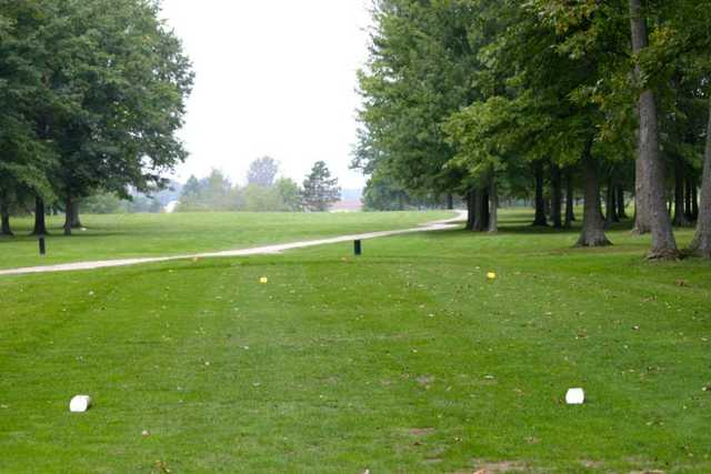 A view from tee #3 at Blues Creek Golf Club