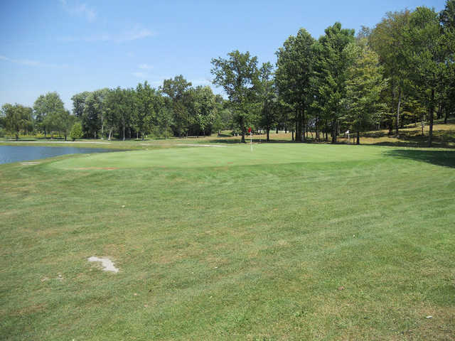 A view of hole #7 at Suffield Springs Golf Club